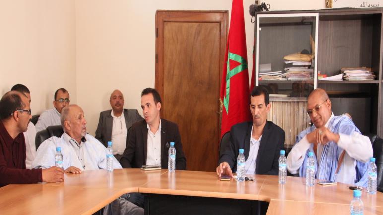 رئيس و مجلس جماعة إيمليلي يصدرون بيان بشأن فتح معبر الگرگرات
