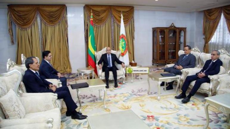 الرئيس الموريتاني يستقبل ناصر بوريطة وسط عودة الدفء إلى العلاقات بين البلدين