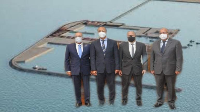 """شركتي SGTM وSOMAGEC-SUD المغربيتين تفوزان بصفقة بناء الميناء """"الداخلة الأطلسي"""""""