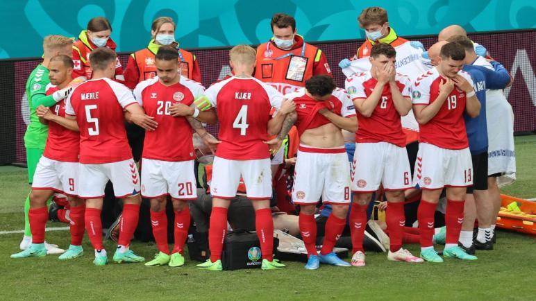طبيب المنتخب الدنماركي لكرة القدم..نجحنا في إعادة الحياة إلى اللاعب كريسيان اركسن