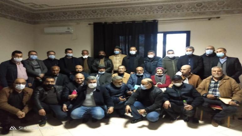 العثماني يعقد لقاءاً تواصلياً مع مندوبي الجهة الشرقية