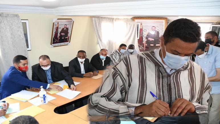 حزب التجمع الوطني للاحرار يفوز برئاسة غرفة الصناعة التقليدية في شخص سيداتي الشگاف