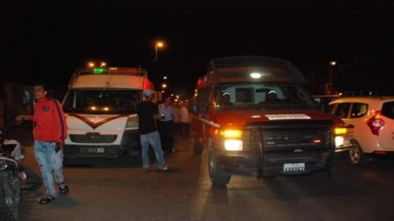وفاة شخص و إصابة ٱخر في حادث سير خطير بطريق فرعية بمنطقة الشيارات جنوب الداخلة