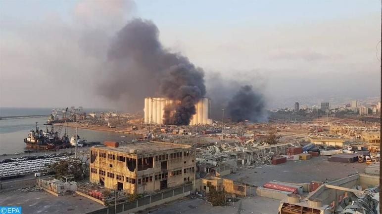 وزير الصحة اللبناني: 113 قيلا على الاقل و 4 الاف جريح حصيلة انفجار مرفا بيروت