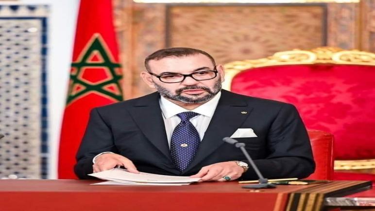 الملك محمد السادس يوجه خطابا ساميا الى الشعب المغربي بمناسبة ذكرى ثورة الملك والشعب