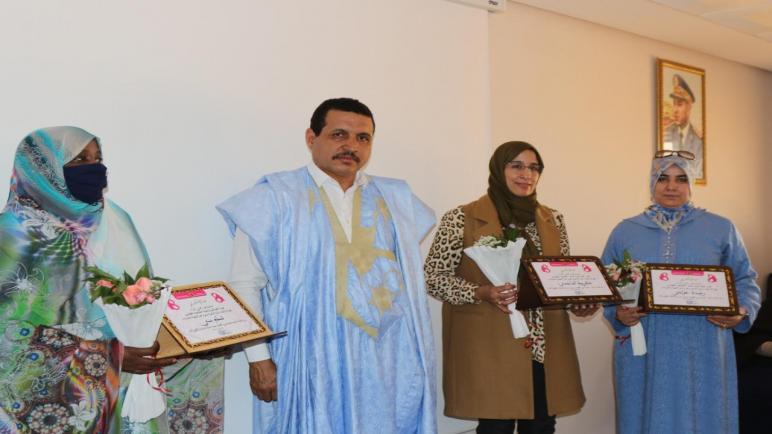 """الجمعية الخيرية للتنمية الإجتماعية والتضامن بحضور """"امبارك حمية"""" تنظم أمسية إحتفالية بعيد المرأة"""