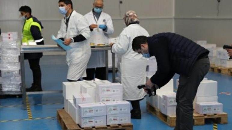 هاذ صباح بدء توزيع اللقاح ضد كوفيد-19 على الجهات والداخلة ضمن القائمة