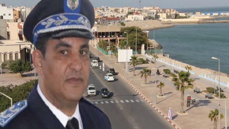 """ترقية العميد الاقليمي"""" سعيد برحو"""" رئيسا للمنطقة الجهوية للامن بالداخلة"""