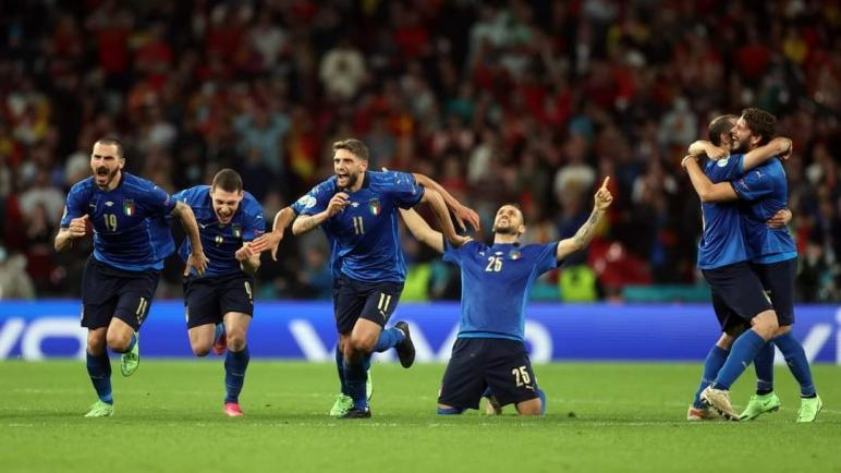 كاس اوروبا للأمم.. إيطاليا إلى النهائي على حساب اسبانيا عقب الاحتكام للضربات الترجيحية