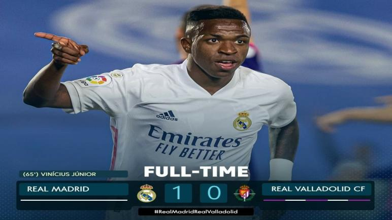 فينسوس يقود ريال مدريد لفوزه الثاني على التوالي في الليغا