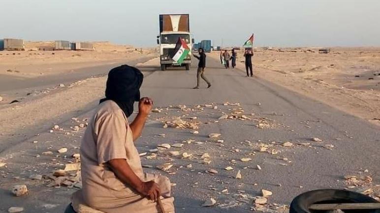 عاجل…عودة التوتر الى المعبر الحدودي الكركرات و سط الحديث عن إغلاقه