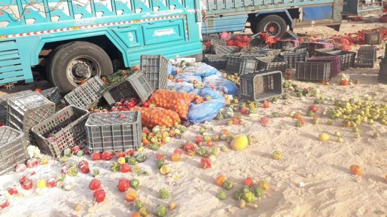 إغلاق معبر الكركرات يتسبب في إرتفاع أسعار الخضر.. و الموريتانيين يطالبون الحكومة بالإهتمام بالفلاحة