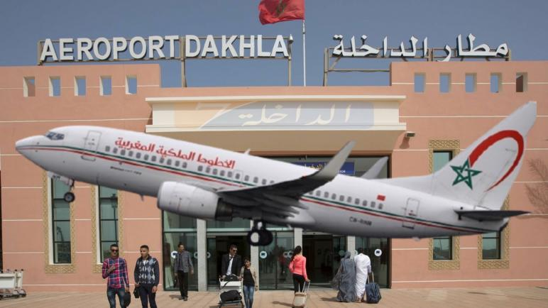 """""""لارام"""" تعلن عن تغيير برنامج الرحلات الجوية الرابطة بين الدار البيضاء و الداخلة فهاد التاريخ"""