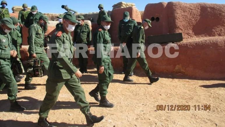 الجنرال دوكوردارمي عبد الفتاح الوراق مشا لقطاع المحبس