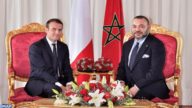 ماكرون يتصل بالملك محمد السادس مُؤكداً دور المغرب في إيجاد حل للأزمة الليبية