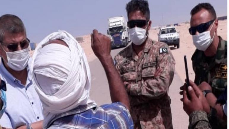 بضغط من المينورسو..انصار البوليساريو يغادرون المعبر الحدودي الكركرات