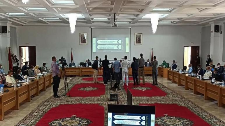 جدول أعمال الدورة العادية لمجلس جهة الداخلة وادي الذهب برسم شهر أكتوبر