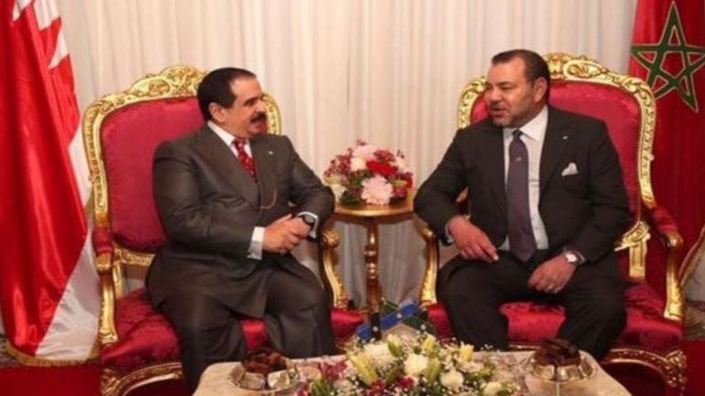 في اتصال هاتفي بجلالة الملك …ملك البحرين يعلن عزم المنامة فتح قنصلية بالعيون