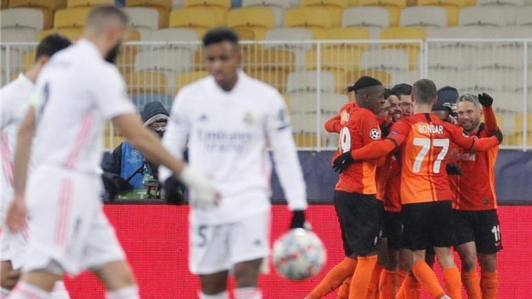 شامبيونزليج..ريال مدريد مُهدد بالخروج من الأبطال بعد هزيمة من شاختار