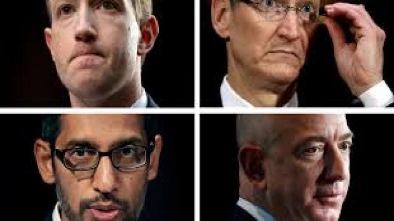 محاكمة تاريخية لفيسبوك وجوجل وأمازون وآبل