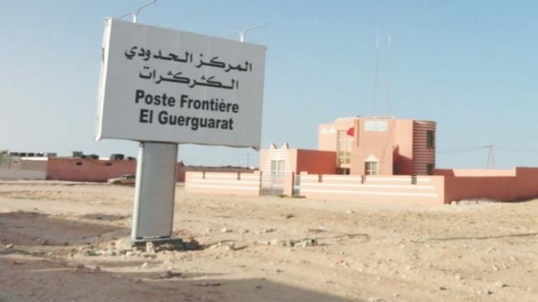 تعزيزات عسكرية للقوات الموريتانية للوقوف على اخر مستجدات المعبر الحدودي كركارات